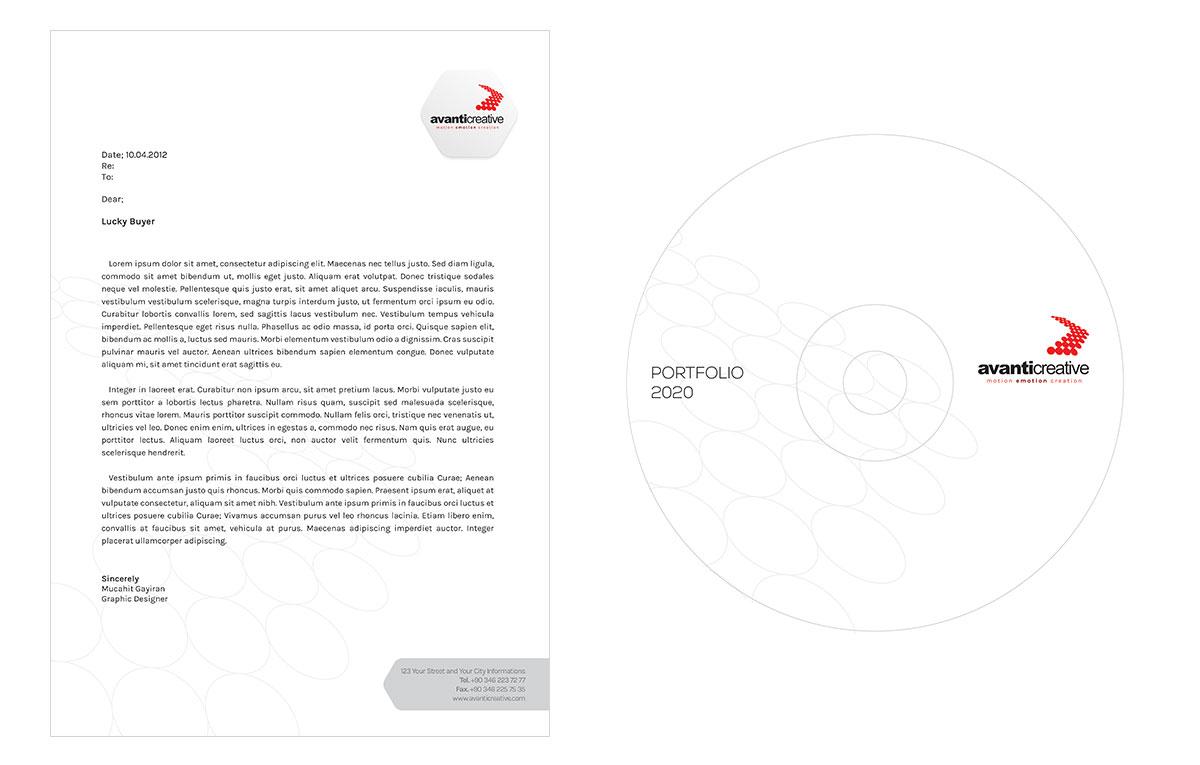 قالب آماده کاتالوگ | قالب رایگان کاتالوگ
