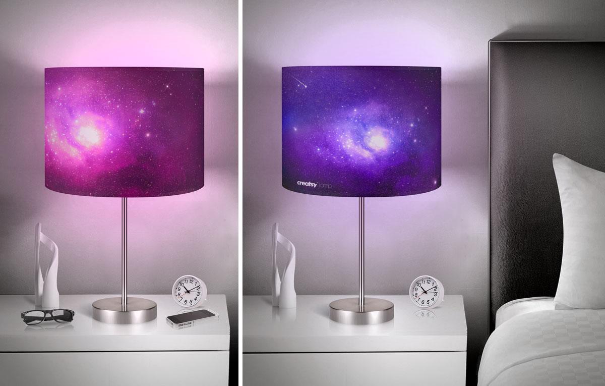 ماکاپ چراغ خواب Lamp