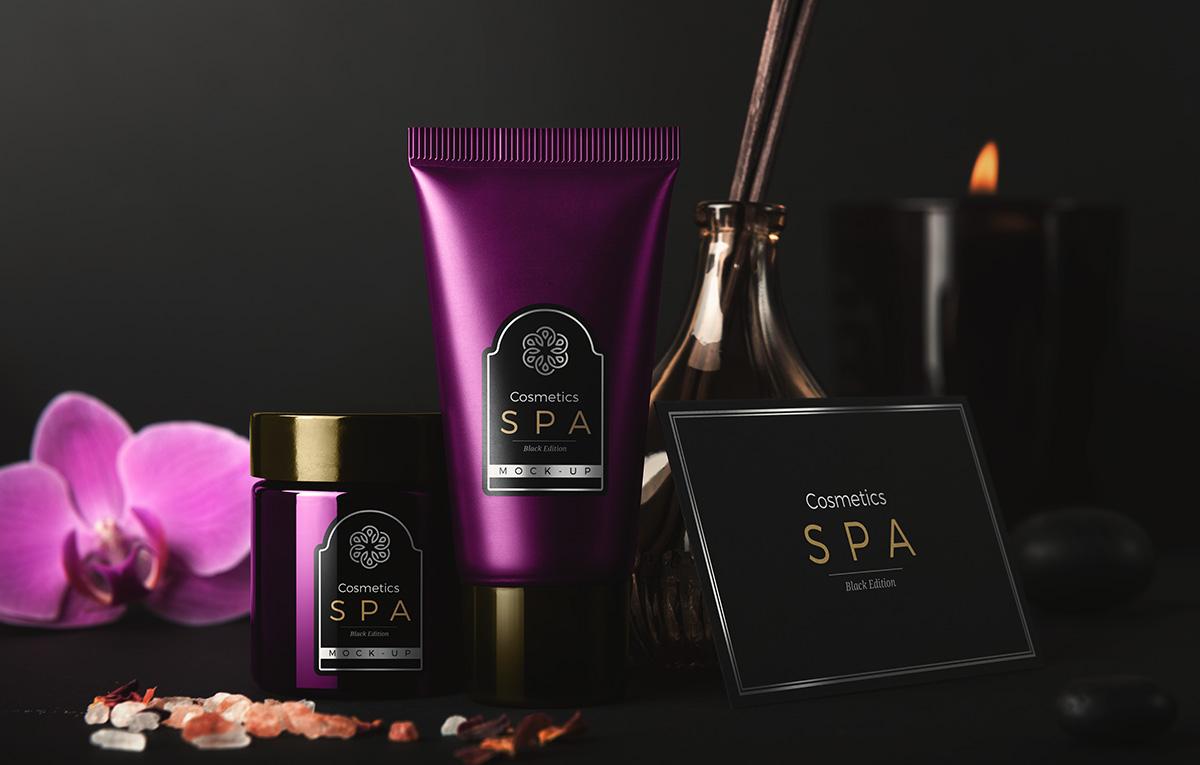 ماکاپ محصولات آرایشی SPA