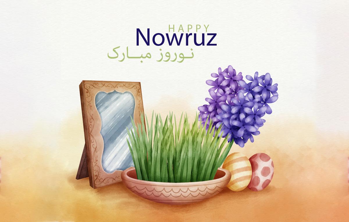 قالب آماده تبریک عید نوروز Nowruz