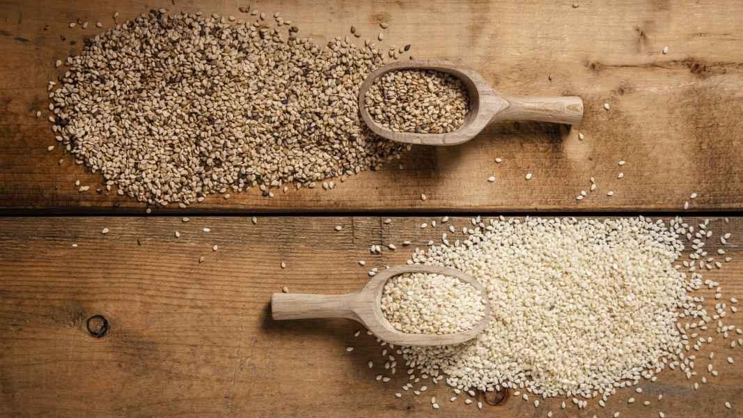 عکاسی محصولات غذایی | دانههای روغنی