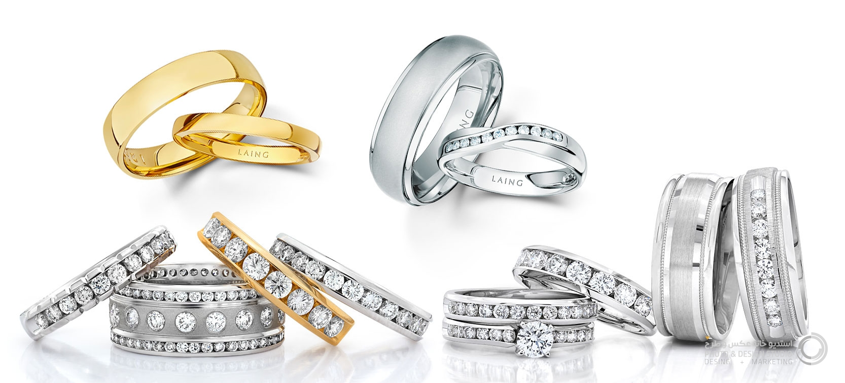 jewelry, photography, stone, diamond, gold, necklaces, earrings, advertising, branding, marketing