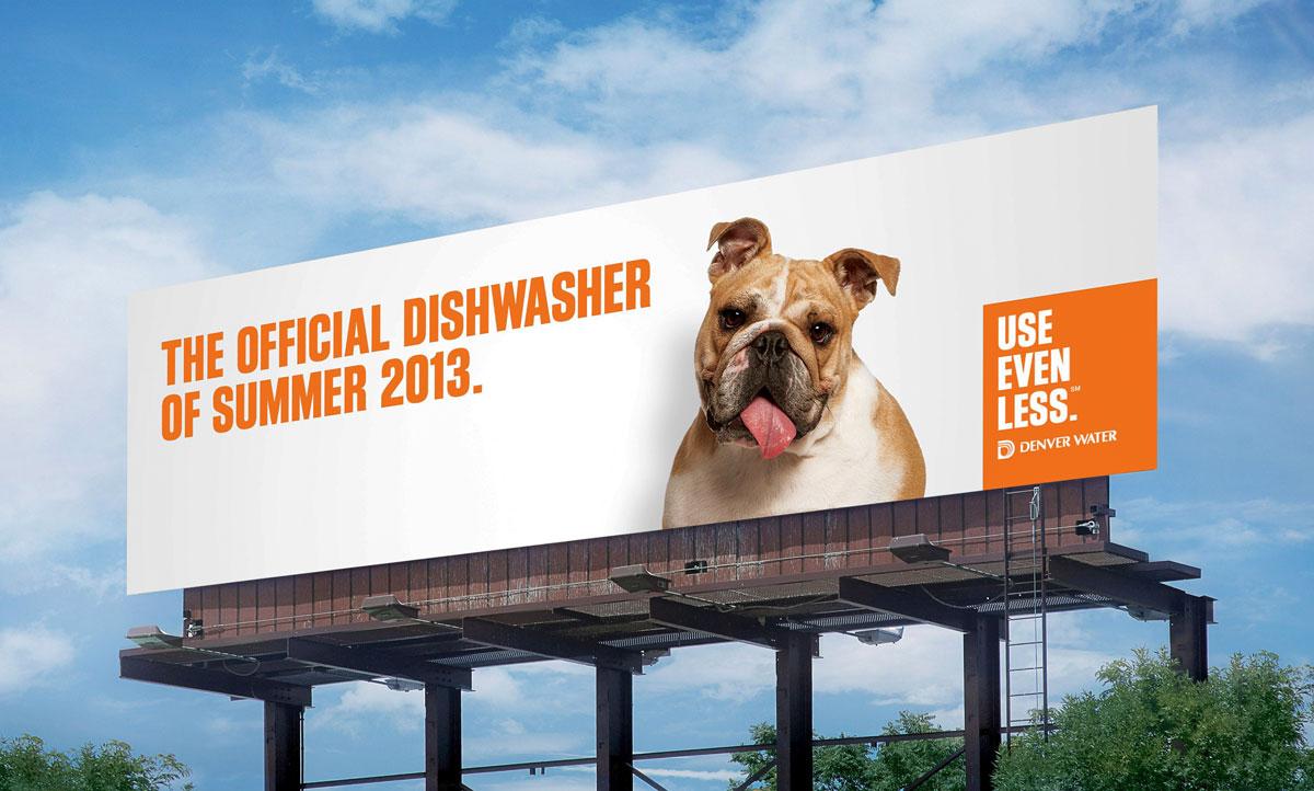 بیلبورد تبلیغاتی شهری آب معدنی