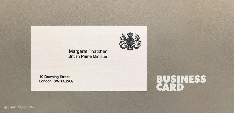 پیشینه طراحی کارت ویزیت | Business Card