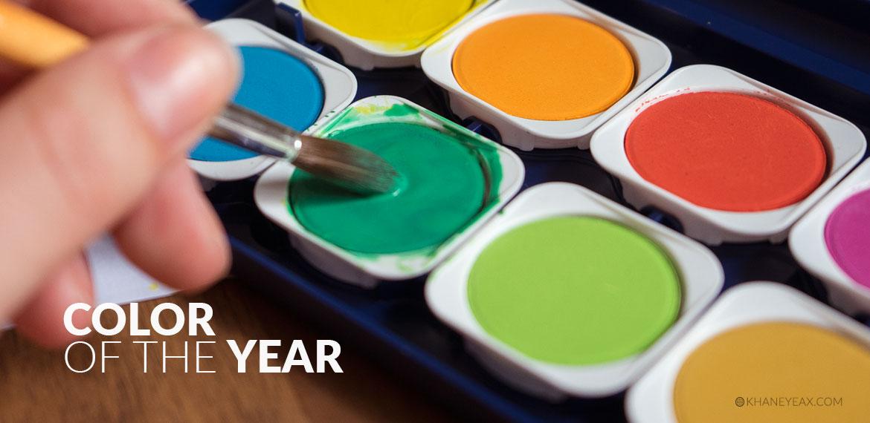 رنگ سال و چگونگی انتخاب آن