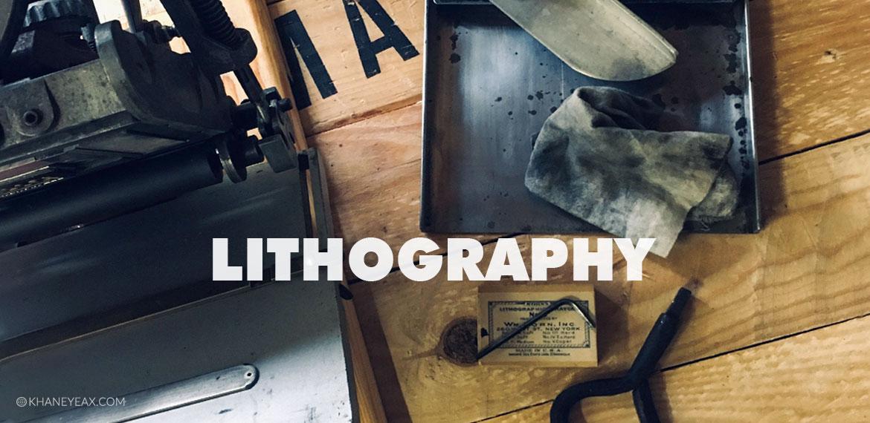 لیتوگرافی   چاپ سنگی   طرح نگاری