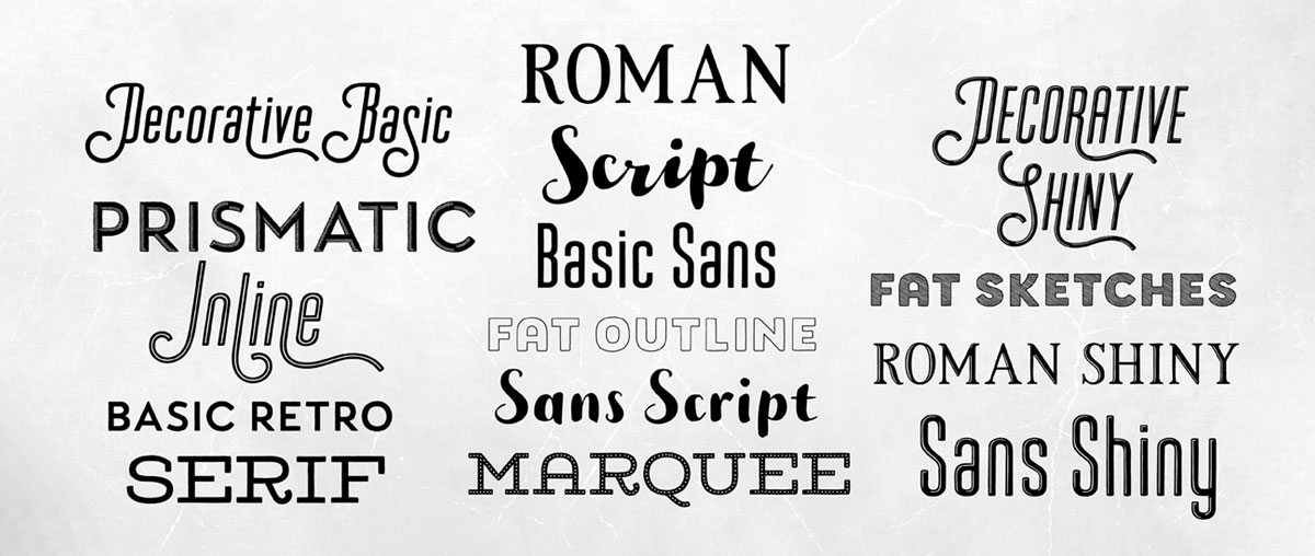اهمیت فونت مناسب در طراحی لوگو