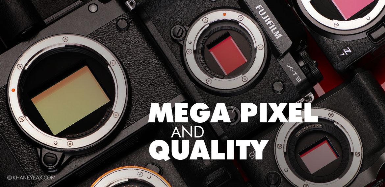 مگاپیکسل دوربین عکاسی | Mega Pixel