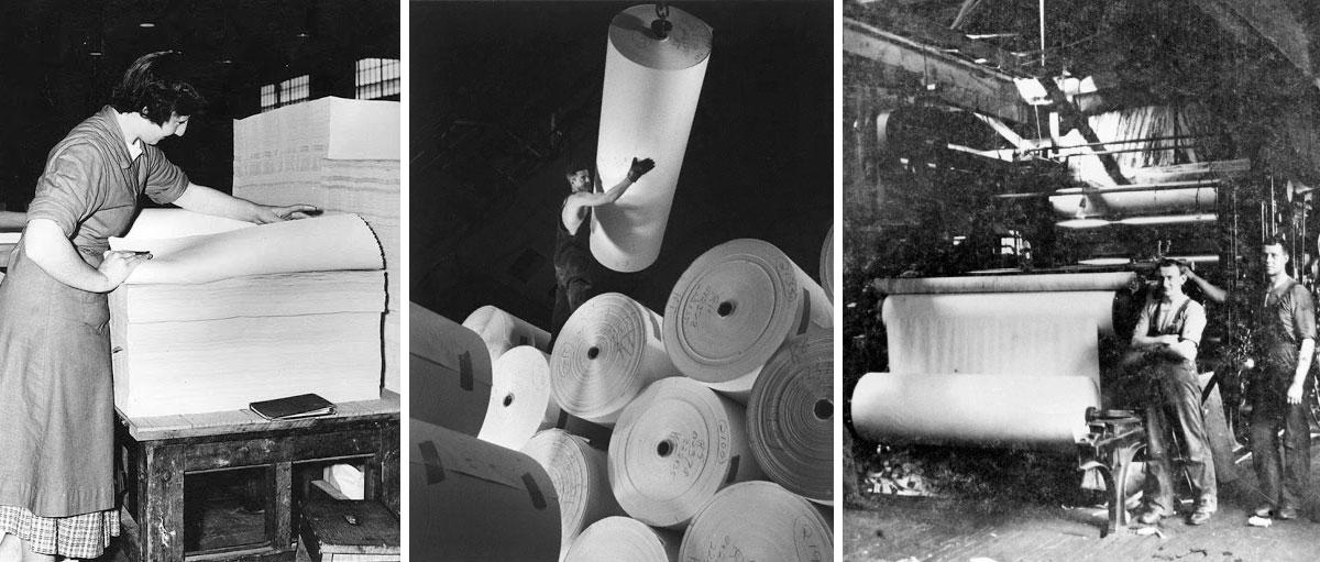 تاریخچه ساخت کاغذ در ایران