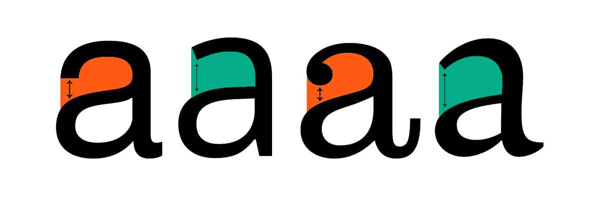 طراحی لوگو تایپوگرافی - Aperture