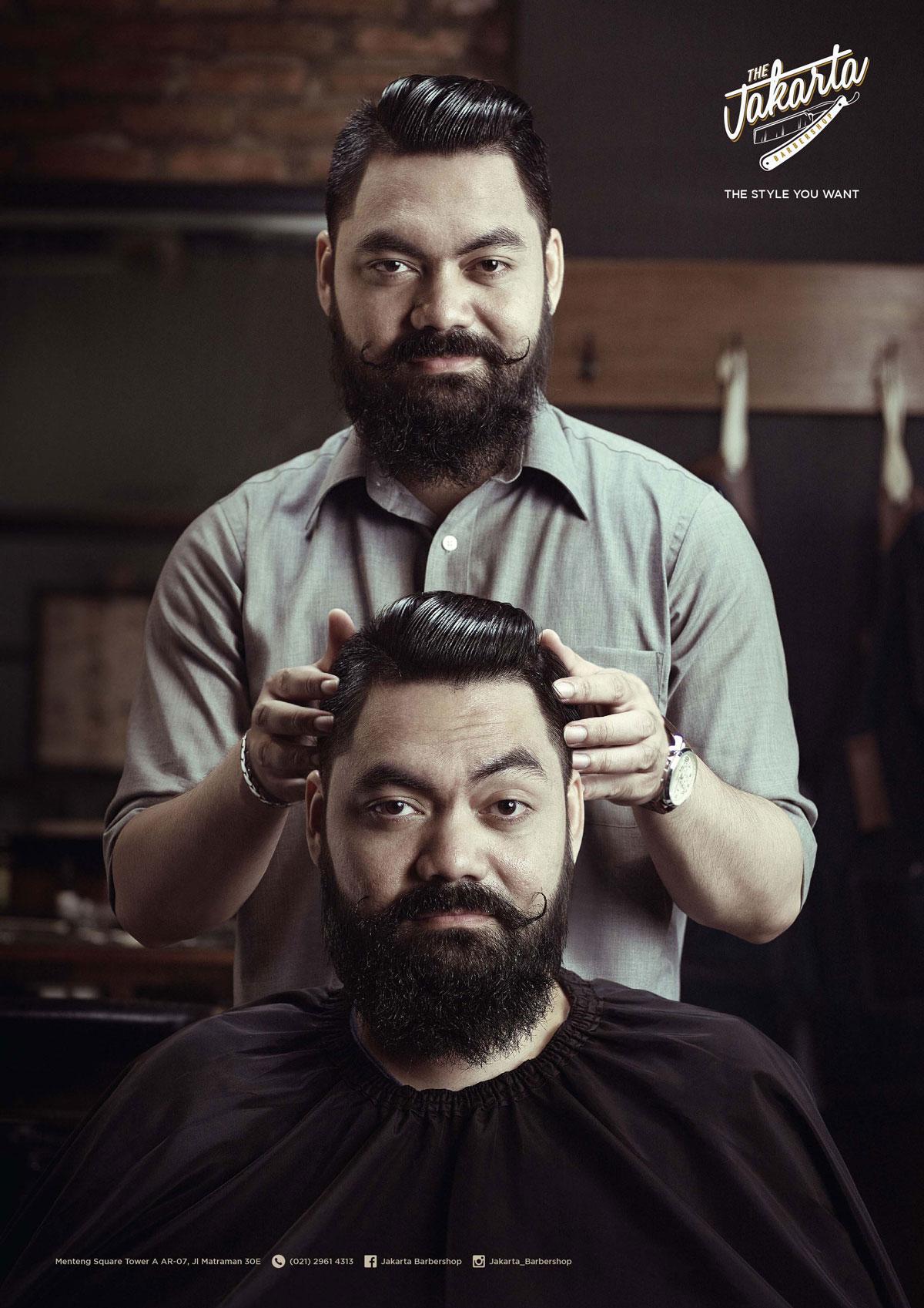 ایدههای تبلیغ آرایشگاه مردانه