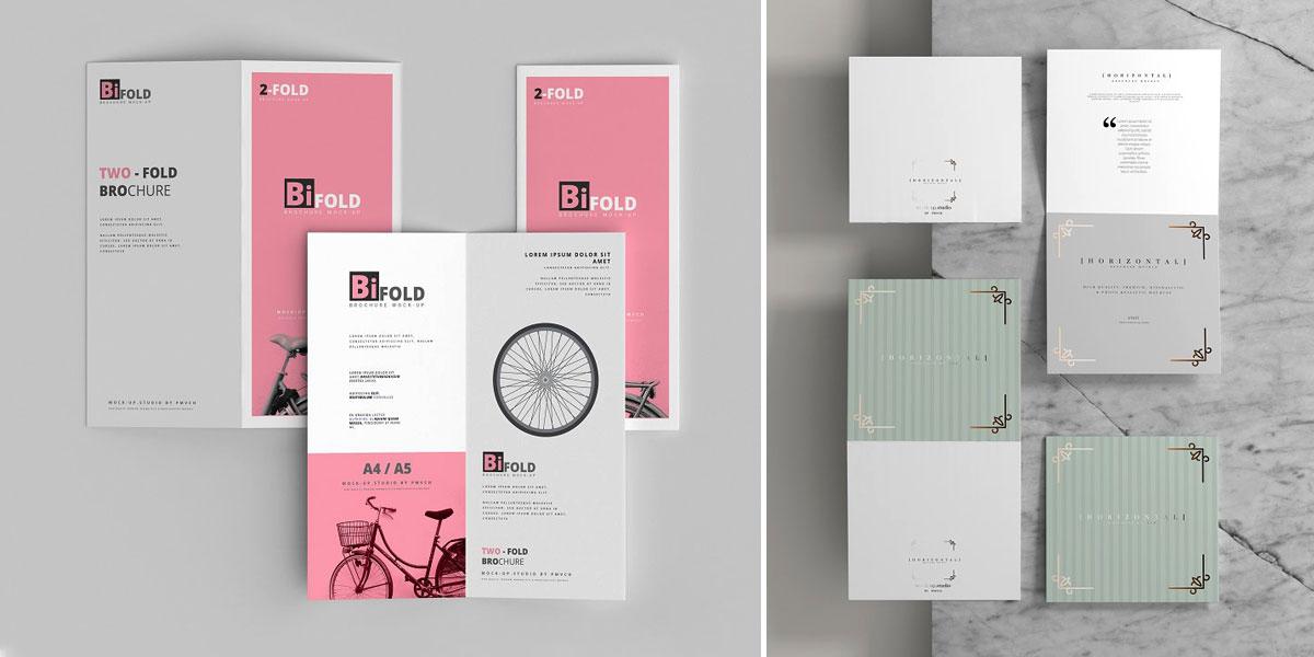 طراحی انواع بروشورهای تبلیغاتی