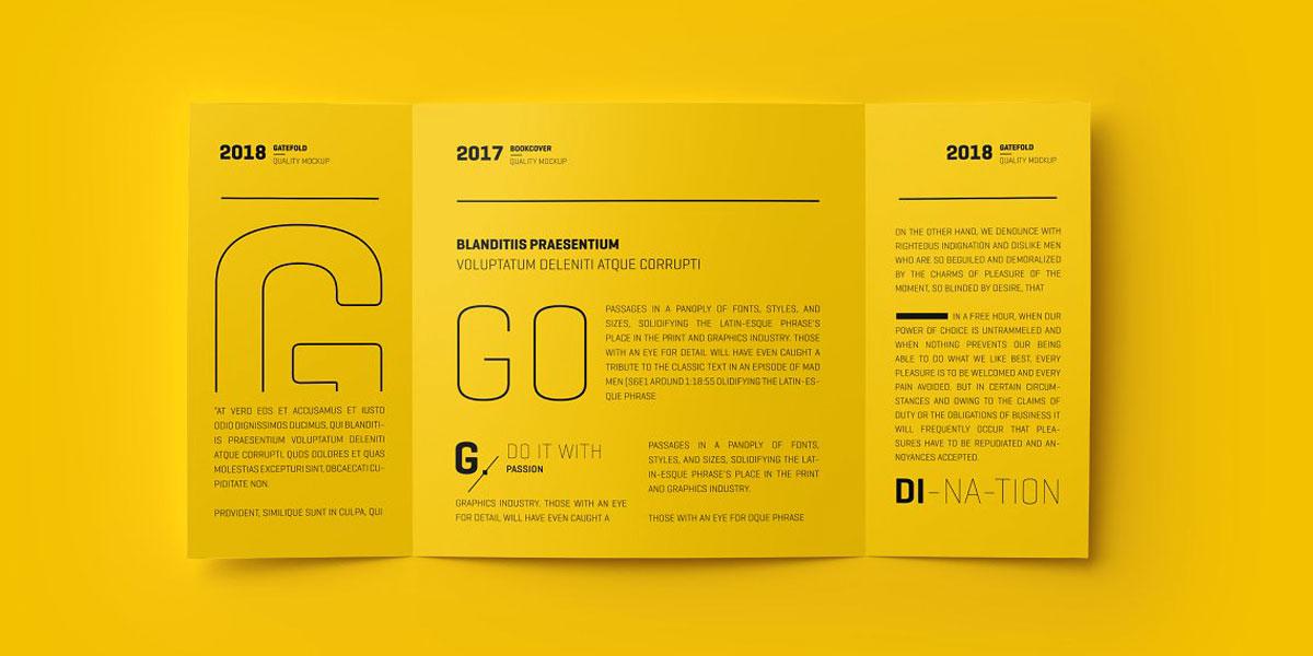 آموزش کامل طراحی بروشور تبلیغاتی