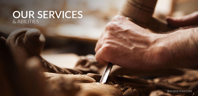 خدمات و توانمندیهای
