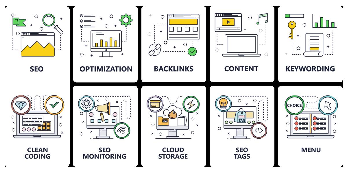 خدمات سئو و بهینهسازی وبسایت